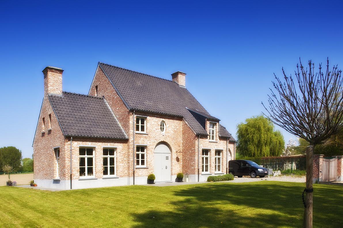 Realisaties architect luxe woningen architectenbureau gruwez oudenaarde gent - Interieur van amerikaans huis ...