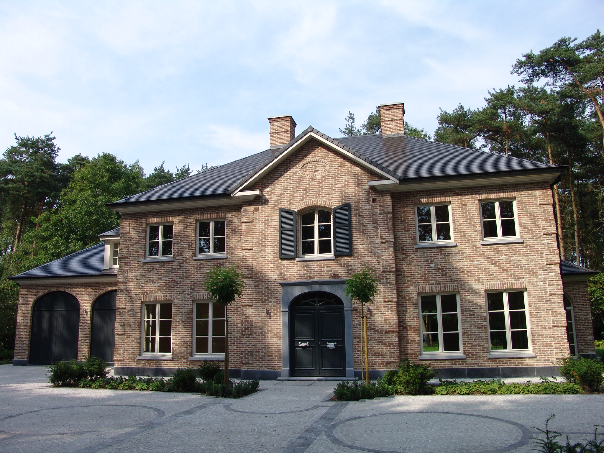 Realisaties architect luxe woningen architectenbureau for Bouwen en interieur