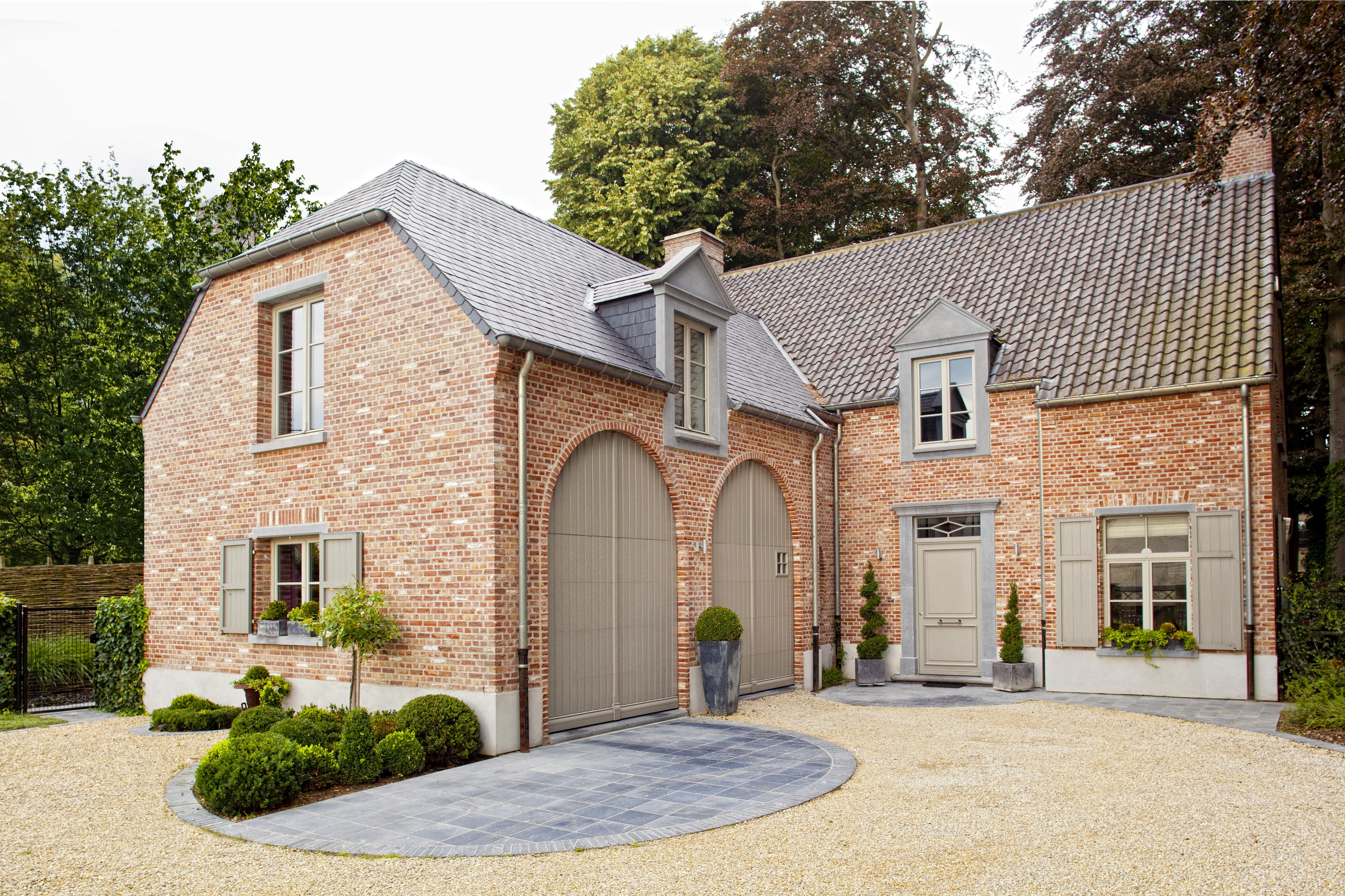 Realisaties architect luxe woningen architectenbureau for Landelijke woning te koop
