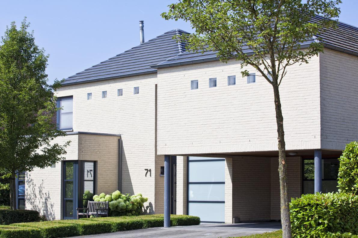 Realisaties architect luxe woningen architectenbureau gruwez oudenaarde gent - Huis interieur architectuur ...