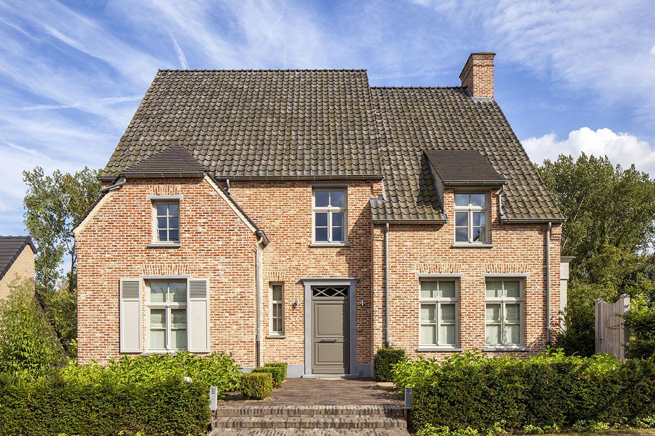 Realisaties architect luxe woningen architectenbureau gruwez oudenaarde gent - Modern stijl huis ...