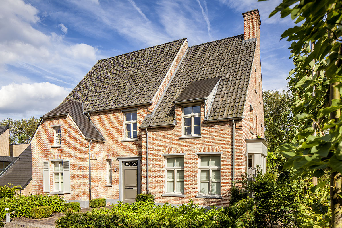 Realisaties architect luxe woningen architectenbureau for Landelijk bouwen architect