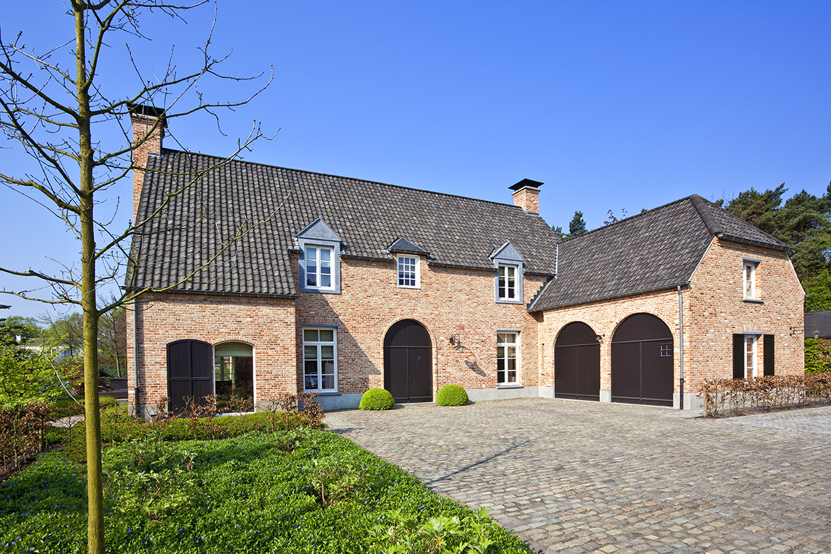 Realisaties architect luxe woningen architectenbureau for Architect landelijk
