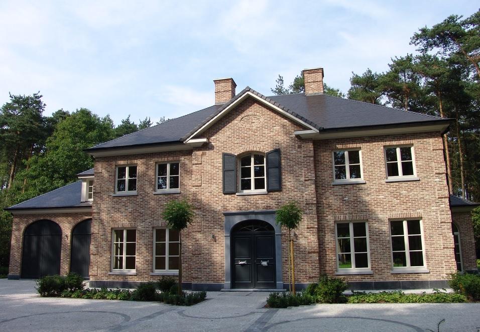 Huis muur kies het ontwerp huis bouwen architect for Zelf woning bouwen prijzen