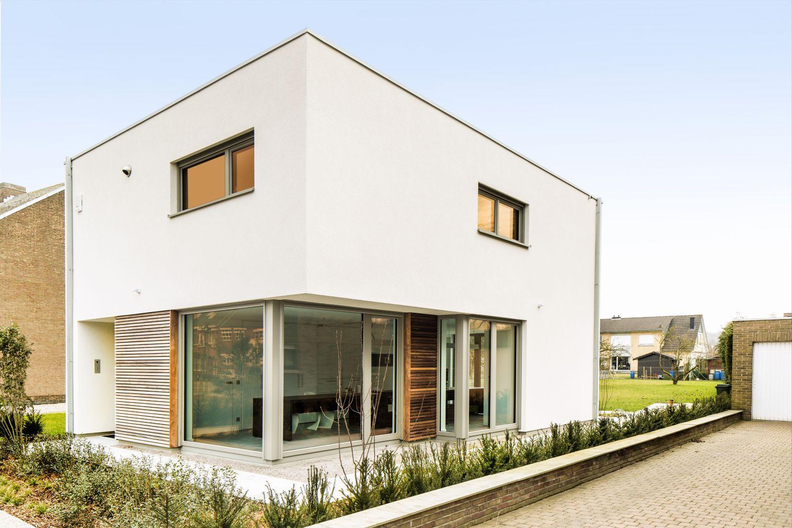 Modern huis bouwen architect luxe woningen for Woning indeling