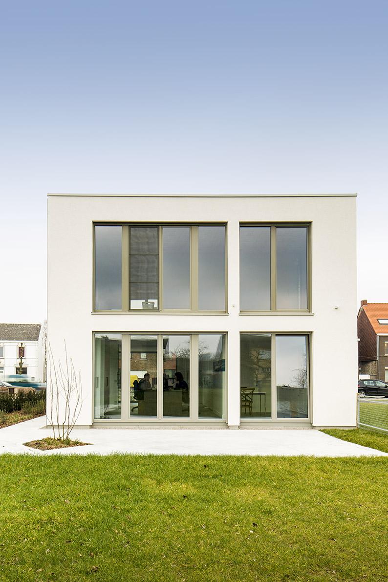Bijna energieneutraal bouwen ben woning architect luxe for Energieneutraal bouwen